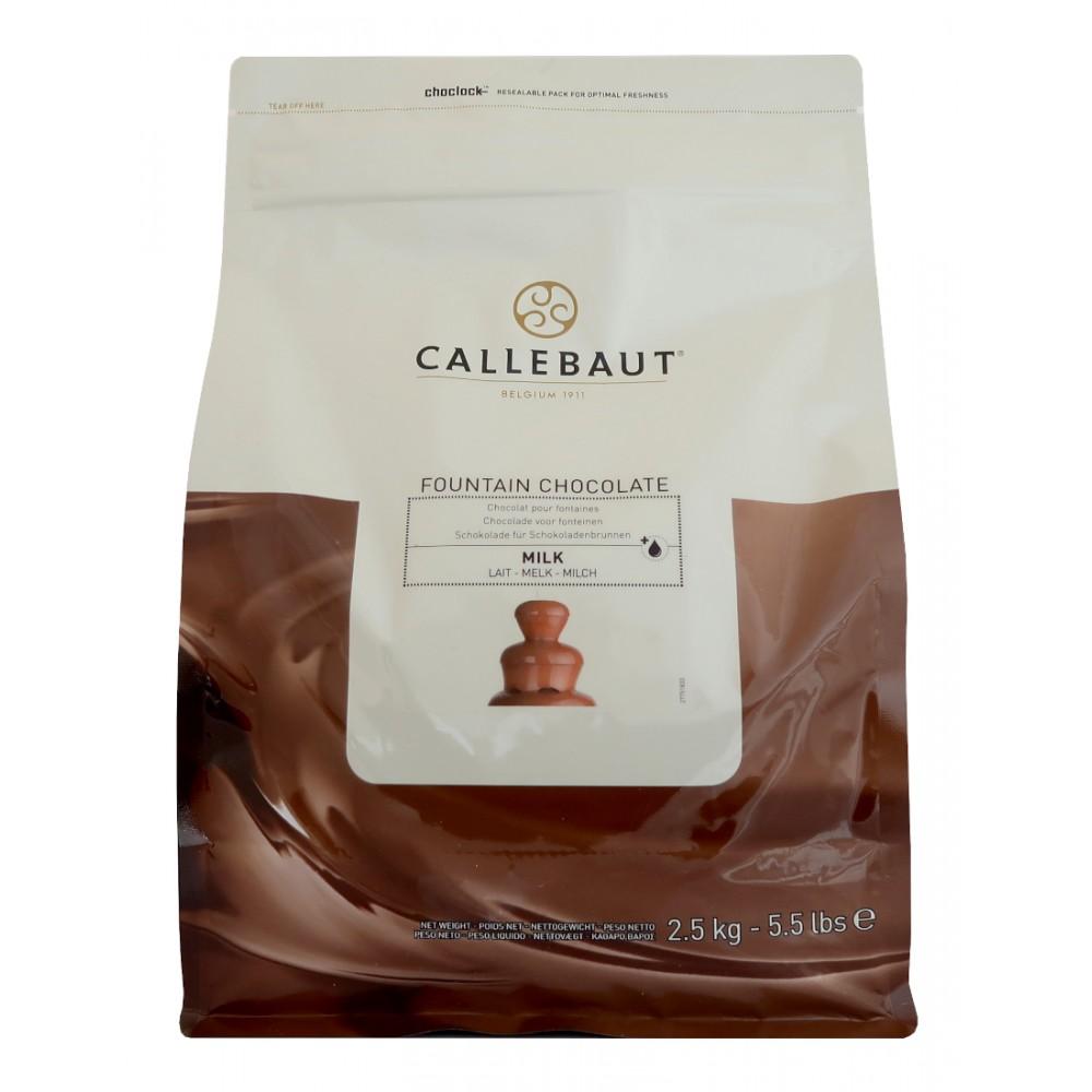 Mléčná čokoláda Callebaut do fontány 2,5 kg